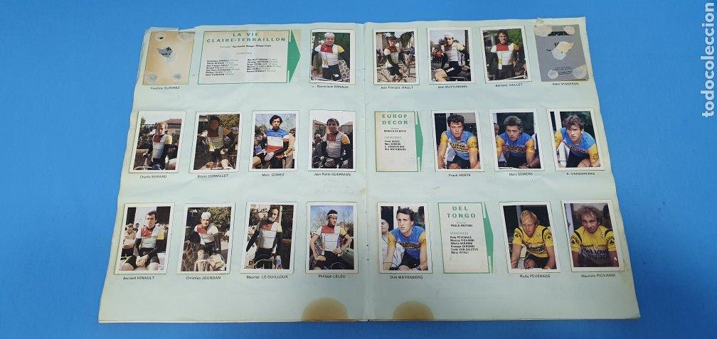 Coleccionismo deportivo: ÁLBUM TRIDEPORTE 84 - CICLISMO / FUTBOL / BALONCESTO - EDICIONES FHER - Foto 8 - 236118800