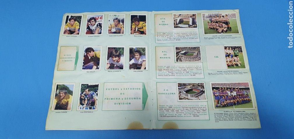 Coleccionismo deportivo: ÁLBUM TRIDEPORTE 84 - CICLISMO / FUTBOL / BALONCESTO - EDICIONES FHER - Foto 9 - 236118800