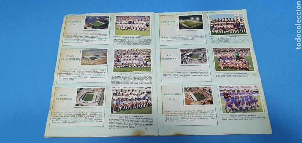 Coleccionismo deportivo: ÁLBUM TRIDEPORTE 84 - CICLISMO / FUTBOL / BALONCESTO - EDICIONES FHER - Foto 12 - 236118800