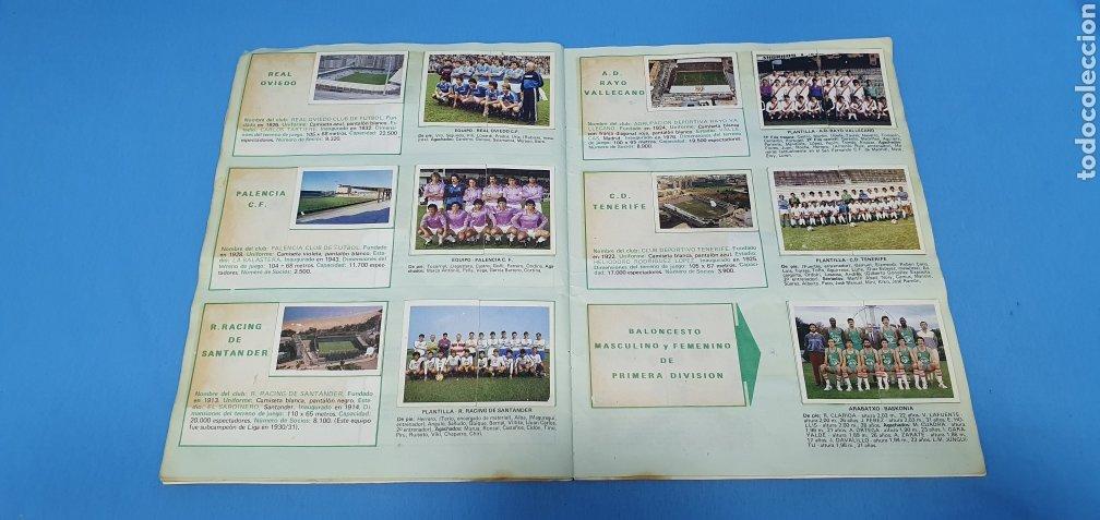 Coleccionismo deportivo: ÁLBUM TRIDEPORTE 84 - CICLISMO / FUTBOL / BALONCESTO - EDICIONES FHER - Foto 15 - 236118800