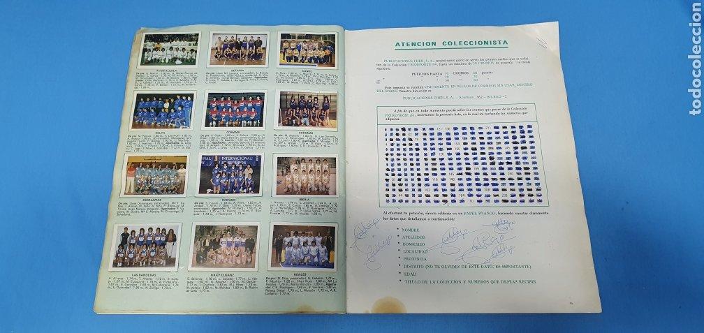 Coleccionismo deportivo: ÁLBUM TRIDEPORTE 84 - CICLISMO / FUTBOL / BALONCESTO - EDICIONES FHER - Foto 18 - 236118800