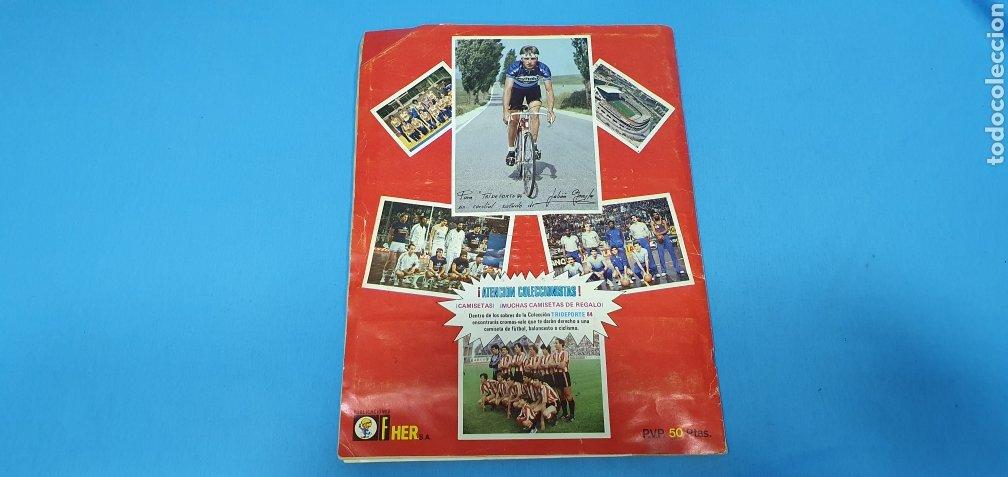 Coleccionismo deportivo: ÁLBUM TRIDEPORTE 84 - CICLISMO / FUTBOL / BALONCESTO - EDICIONES FHER - Foto 19 - 236118800