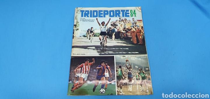 ÁLBUM TRIDEPORTE 84 - CICLISMO / FUTBOL / BALONCESTO - EDICIONES FHER (Coleccionismo Deportivo - Álbumes otros Deportes)