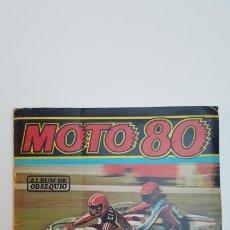 Coleccionismo deportivo: ÁLBUM DE CROMOS MOTO80. Lote 236229340