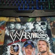 Coleccionismo deportivo: ALBUM WWE RIVALS COMPLETO A FALTA DE 10 CROMOS (LEER DESCRIPCIÓN). Lote 237772265