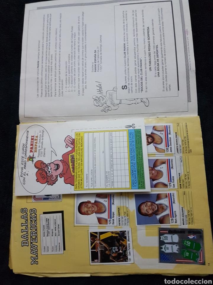Coleccionismo deportivo: Album cromos Basket NBA 89 panini - Foto 4 - 268318514