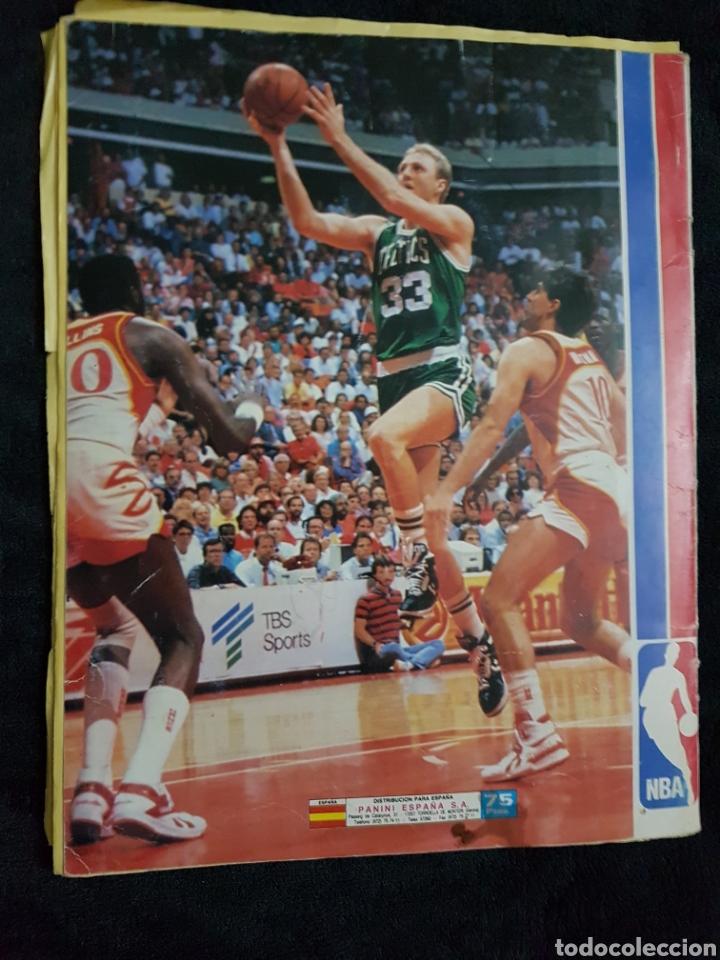 Coleccionismo deportivo: Album cromos Basket NBA 89 panini - Foto 5 - 268318514