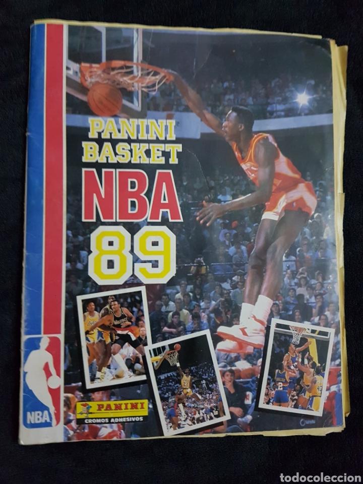 ALBUM CROMOS BASKET NBA 89 PANINI (Coleccionismo Deportivo - Álbumes otros Deportes)