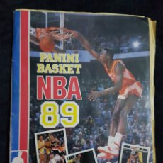 Coleccionismo deportivo: ALBUM CROMOS BASKET NBA 89 PANINI. Lote 238667400