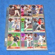 Coleccionismo deportivo: BÉISBOL MLB 1995 (DONRUSS) BASEBALL - COLECCIÓN COMPLETA Y EN EXCELENTE ESTADO. Lote 241687325