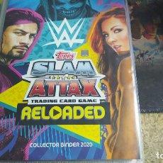 Coleccionismo deportivo: ALBUM WWE SLAM ATTAX RELOADED CON 211/352 (LEER DESCRIPCIÓN). Lote 242189915