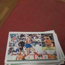 Coleccionismo deportivo: RUIZ ATLÉTICO DE MADRID ESTE 84 85 1984 1985 SIN PEGAR. Lote 243451065