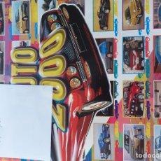 Coleccionismo deportivo: COLECCIÓN INCOMPLETA DE COCHES AUTO2000 DE PEGATINAS-CROMOS. Lote 243321115
