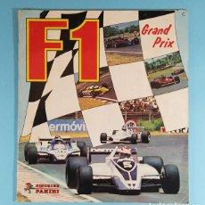 Coleccionismo deportivo: ALBUM DE CROMOS FORMULA 1 F1 GRAN PRIX, FIGURINE PANINI 1980, COMPLETO, AUTOMOVILISMO. Lote 243892185