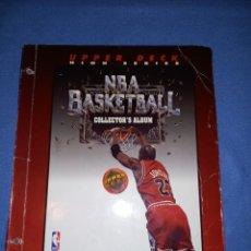 Coleccionismo deportivo: ALBUM NBA UPPER DECK 92 93 1992 1993 CON 129 FICHAS. Lote 244022055