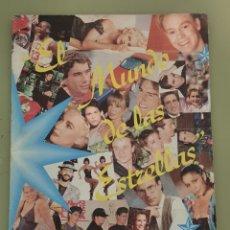 Coleccionismo deportivo: EL MUNDO DE LAS ESTRELLAS ALBUM COMPLETO MICHAEL JORDAN CARL LEWIS LARRY BIRD MIKE POWELL SAMPRAS.... Lote 245119815