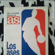 Coleccionismo deportivo: ALBUM LOS ASES DE LA NBA. AS 1989. PERFECTO ESTADO. COMPLETO CON JORDAN, MAGIC, WILKINS.... Lote 245292875
