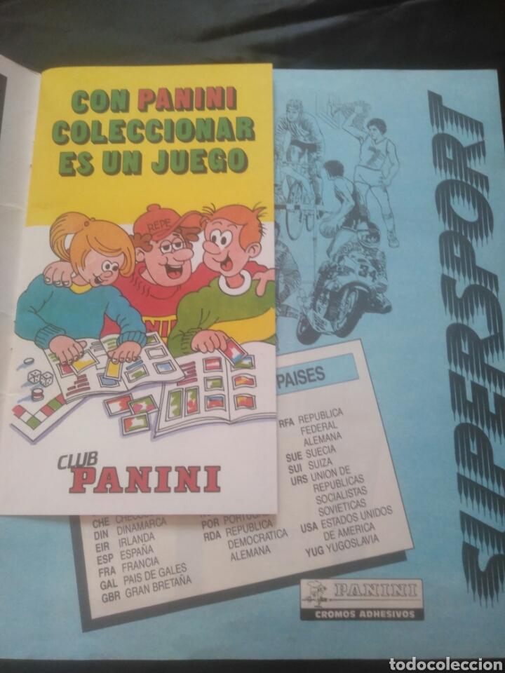 Coleccionismo deportivo: Album Supersport de panini. Completo. Michael Jordan, Maradona, Magic Johnson, Carl Lewis etc... - Foto 3 - 247546755
