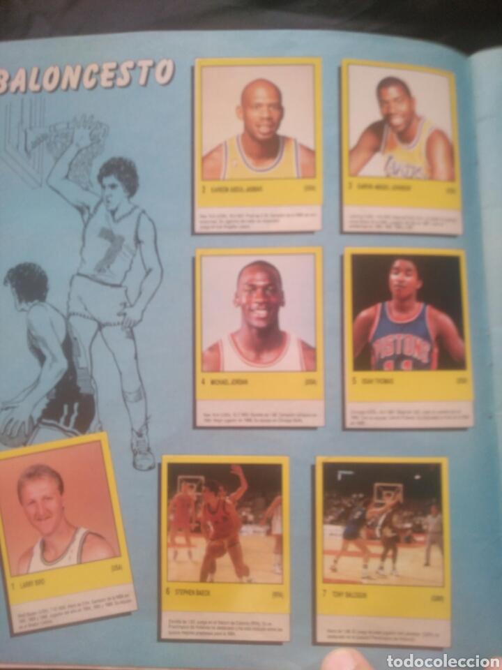 Coleccionismo deportivo: Album Supersport de panini. Completo. Michael Jordan, Maradona, Magic Johnson, Carl Lewis etc... - Foto 4 - 247546755