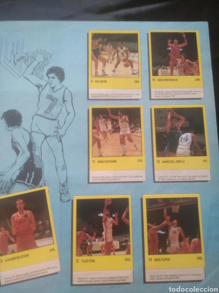Coleccionismo deportivo: Album Supersport de panini. Completo. Michael Jordan, Maradona, Magic Johnson, Carl Lewis etc... - Foto 6 - 247546755