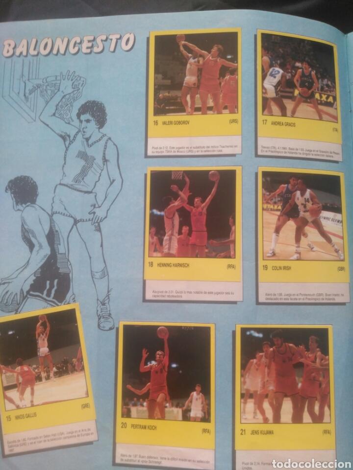 Coleccionismo deportivo: Album Supersport de panini. Completo. Michael Jordan, Maradona, Magic Johnson, Carl Lewis etc... - Foto 7 - 247546755