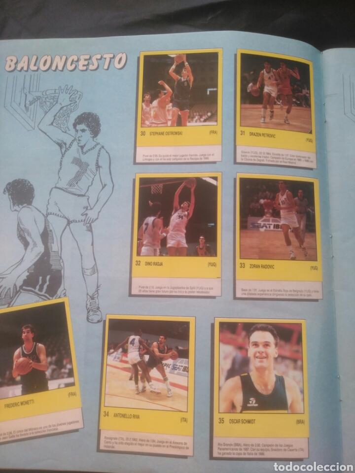 Coleccionismo deportivo: Album Supersport de panini. Completo. Michael Jordan, Maradona, Magic Johnson, Carl Lewis etc... - Foto 9 - 247546755