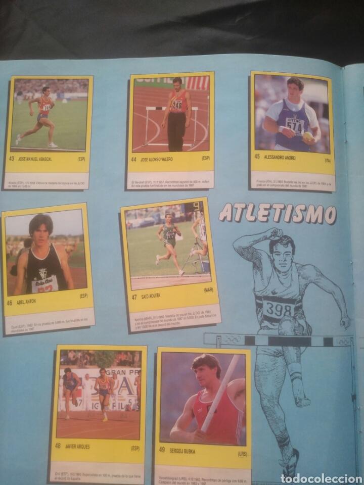 Coleccionismo deportivo: Album Supersport de panini. Completo. Michael Jordan, Maradona, Magic Johnson, Carl Lewis etc... - Foto 11 - 247546755