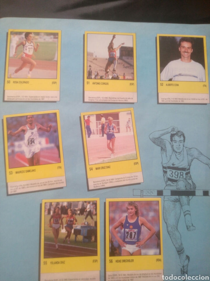Coleccionismo deportivo: Album Supersport de panini. Completo. Michael Jordan, Maradona, Magic Johnson, Carl Lewis etc... - Foto 12 - 247546755