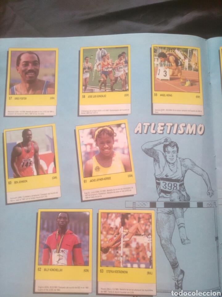 Coleccionismo deportivo: Album Supersport de panini. Completo. Michael Jordan, Maradona, Magic Johnson, Carl Lewis etc... - Foto 13 - 247546755