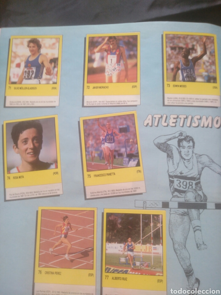 Coleccionismo deportivo: Album Supersport de panini. Completo. Michael Jordan, Maradona, Magic Johnson, Carl Lewis etc... - Foto 17 - 247546755