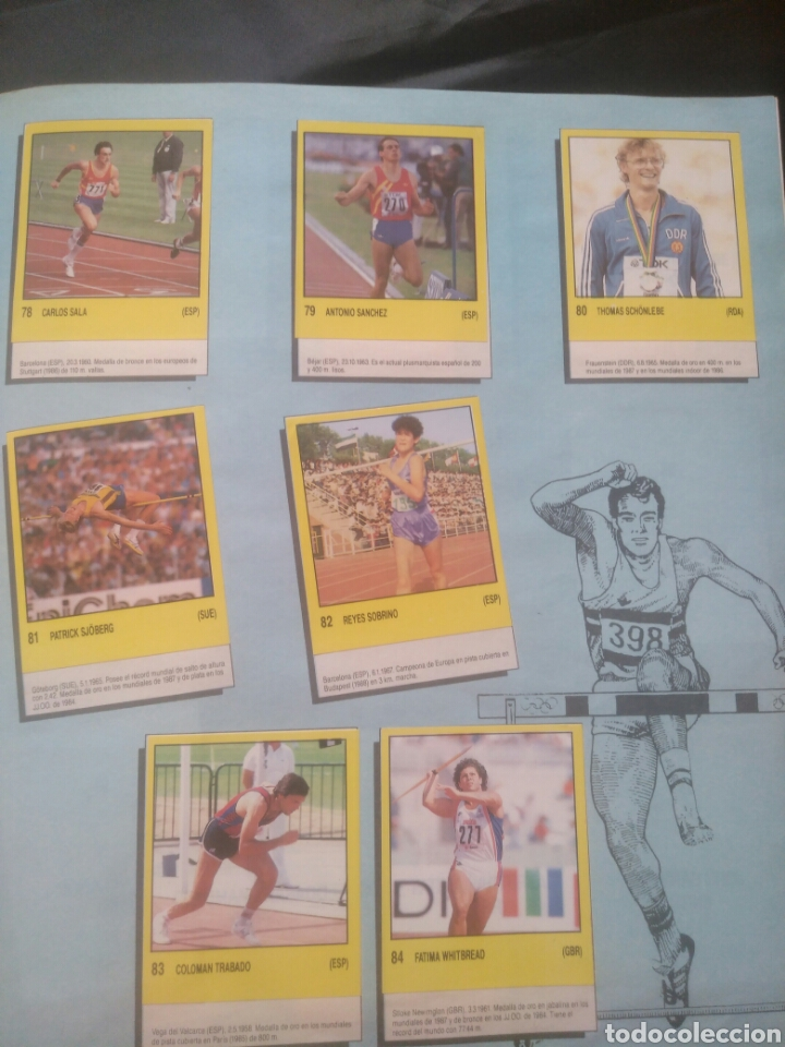 Coleccionismo deportivo: Album Supersport de panini. Completo. Michael Jordan, Maradona, Magic Johnson, Carl Lewis etc... - Foto 18 - 247546755