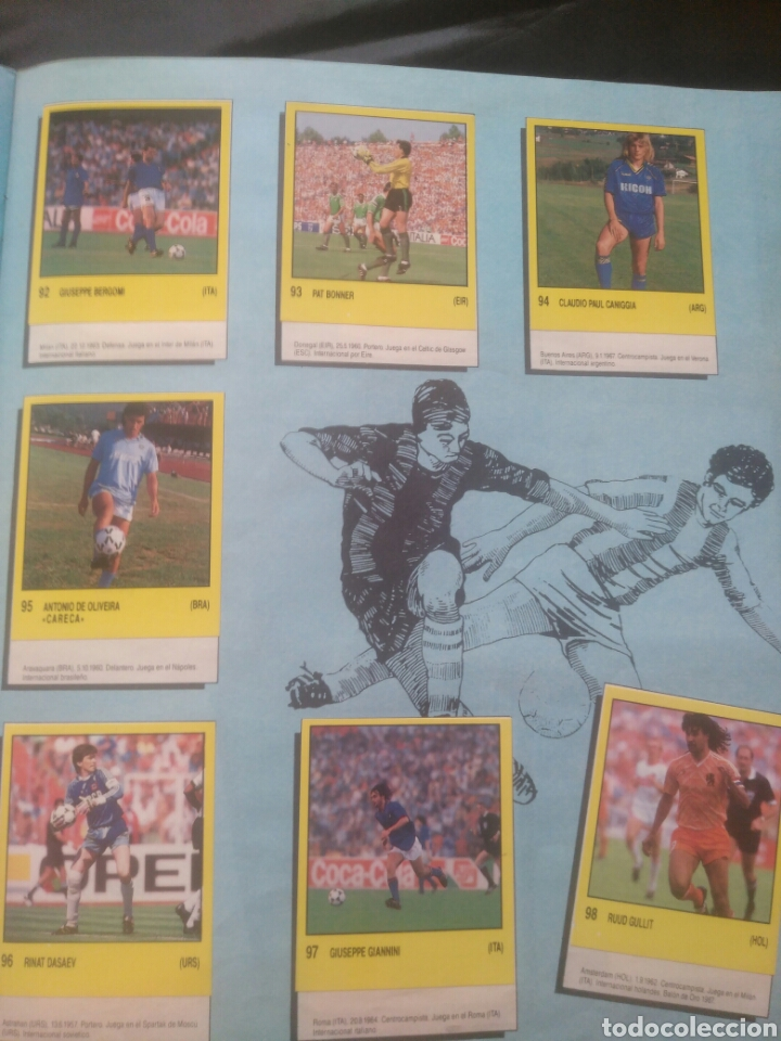 Coleccionismo deportivo: Album Supersport de panini. Completo. Michael Jordan, Maradona, Magic Johnson, Carl Lewis etc... - Foto 20 - 247546755