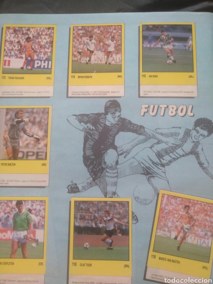 Coleccionismo deportivo: Album Supersport de panini. Completo. Michael Jordan, Maradona, Magic Johnson, Carl Lewis etc... - Foto 25 - 247546755