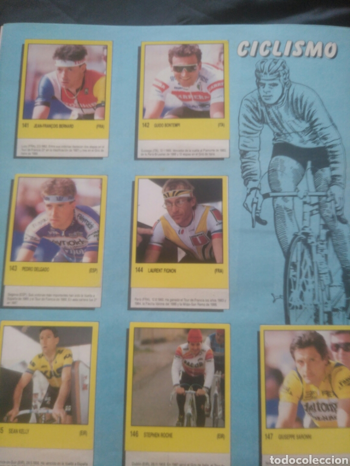 Coleccionismo deportivo: Album Supersport de panini. Completo. Michael Jordan, Maradona, Magic Johnson, Carl Lewis etc... - Foto 30 - 247546755