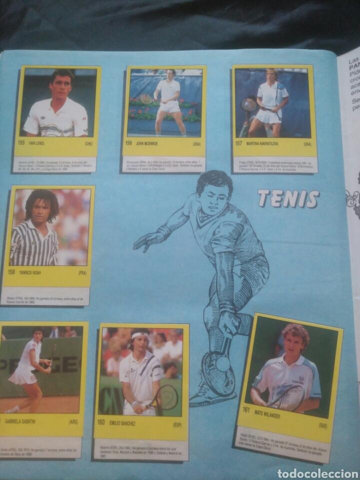 Coleccionismo deportivo: Album Supersport de panini. Completo. Michael Jordan, Maradona, Magic Johnson, Carl Lewis etc... - Foto 33 - 247546755