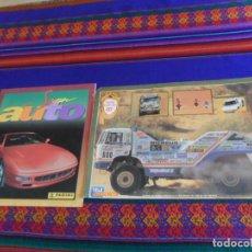 Coleccionismo deportivo: CARPETA ÁLBUM RALLYE PARIS DAKAR 87 COMPLETO. TELE INDISCRETA. REGALO SUPER AUTO INCOMPLETO. PANINI.. Lote 247570615