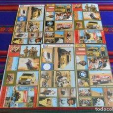 Coleccionismo deportivo: LOTE 57 CROMO NUNCA PEGADO EN PLIEGO PARIS DAKAR 87. TELE INDISCRETA. BUEN ESTADO.. Lote 249485300