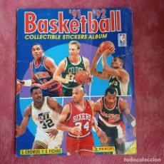 Coleccionismo deportivo: ALBUM BASKETBALL 91 92 CASI COMPLETO FALTAN 3 CROMOS. INCLUYE 3 CROMOS MICHAEL JORDAN. Lote 252657185