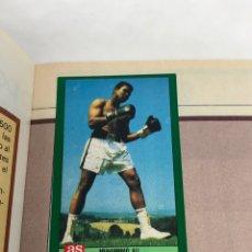 Coleccionismo deportivo: ALBUM COMPLETO ASES OLIMPICOS CONTIENE MUHAMMAD ALI / CASSIUS CLAY / JOE FRAZER / MIKE TYSON. Lote 254563745