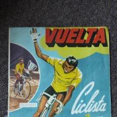 Coleccionismo deportivo: ÁLBUM VUELTA CICLISTA A ESPAÑA 1961 FHER. COMPLETO A FALTA DE 4. Lote 254894555