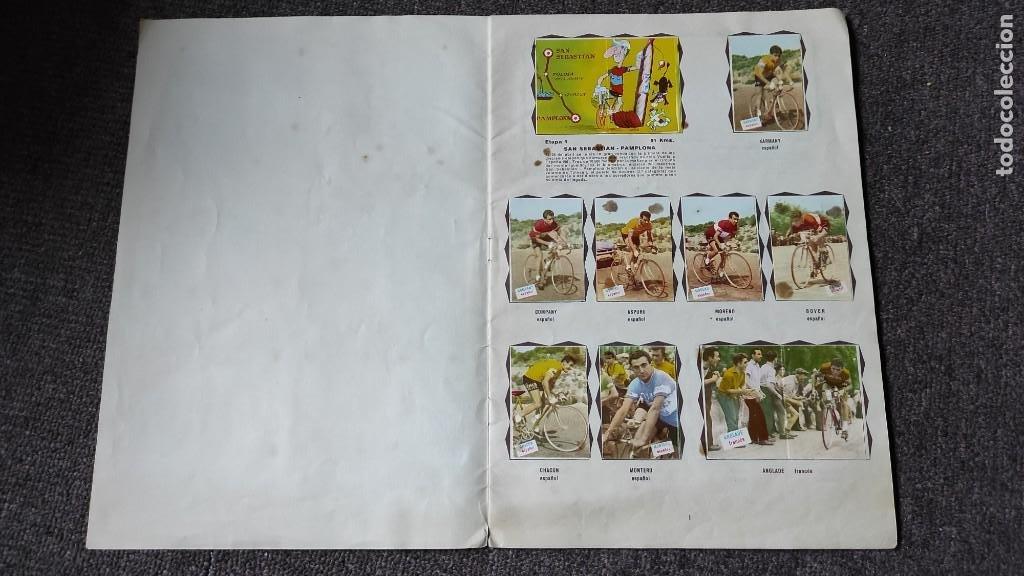 Coleccionismo deportivo: Álbum Vuelta Ciclista a España 1961 Fher. Completo a falta de 4 - Foto 2 - 254894555