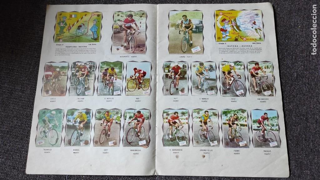 Coleccionismo deportivo: Álbum Vuelta Ciclista a España 1961 Fher. Completo a falta de 4 - Foto 3 - 254894555