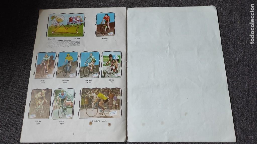 Coleccionismo deportivo: Álbum Vuelta Ciclista a España 1961 Fher. Completo a falta de 4 - Foto 7 - 254894555