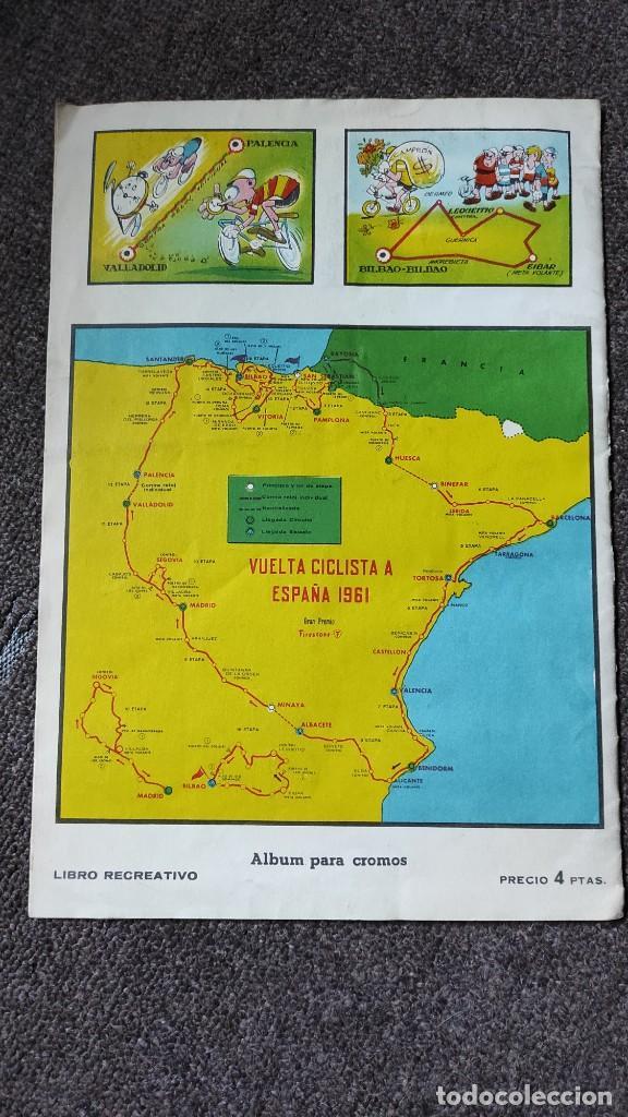 Coleccionismo deportivo: Álbum Vuelta Ciclista a España 1961 Fher. Completo a falta de 4 - Foto 8 - 254894555
