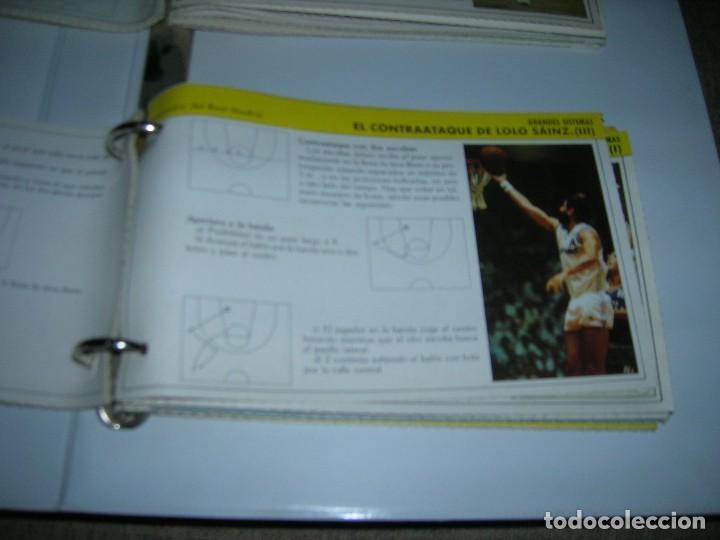 Coleccionismo deportivo: Lote 72 fichas colección Mejora tu basket con Gigantes del Basket (colección completa son 102). - Foto 2 - 255452430