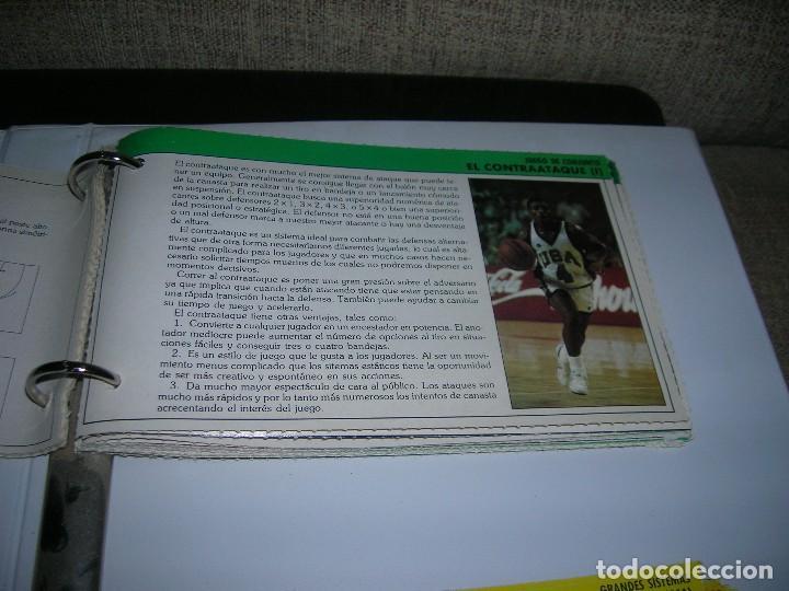 Coleccionismo deportivo: Lote 72 fichas colección Mejora tu basket con Gigantes del Basket (colección completa son 102). - Foto 3 - 255452430