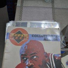 Coleccionismo deportivo: ALBUM NBA BASKET 94-95 TIENES 93 CROMOS SON LOS QUE SE MUESTRAN.. Lote 255606615