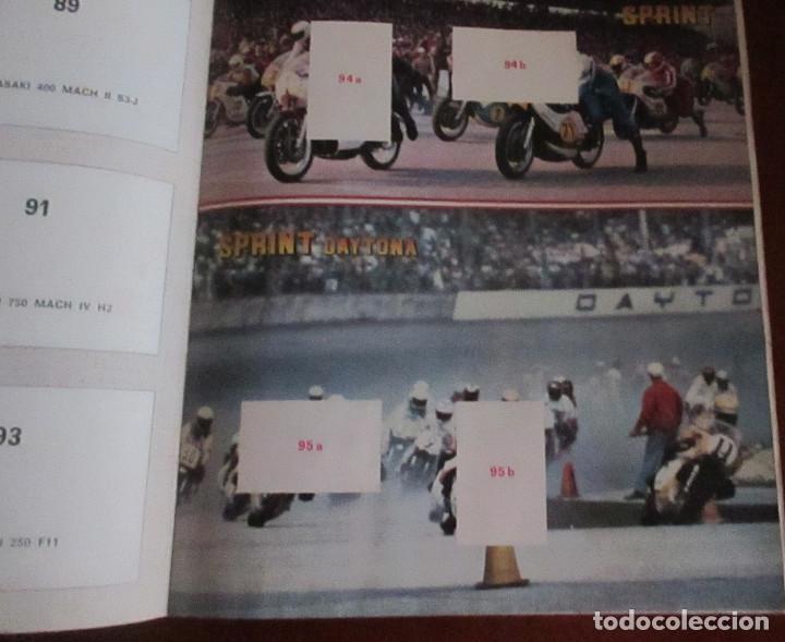 Coleccionismo deportivo: CASI VACIO ALBUM CROMOS SUPER MOTO 1975 VULCANO PANINI SUPERMOTO - Foto 6 - 255932055