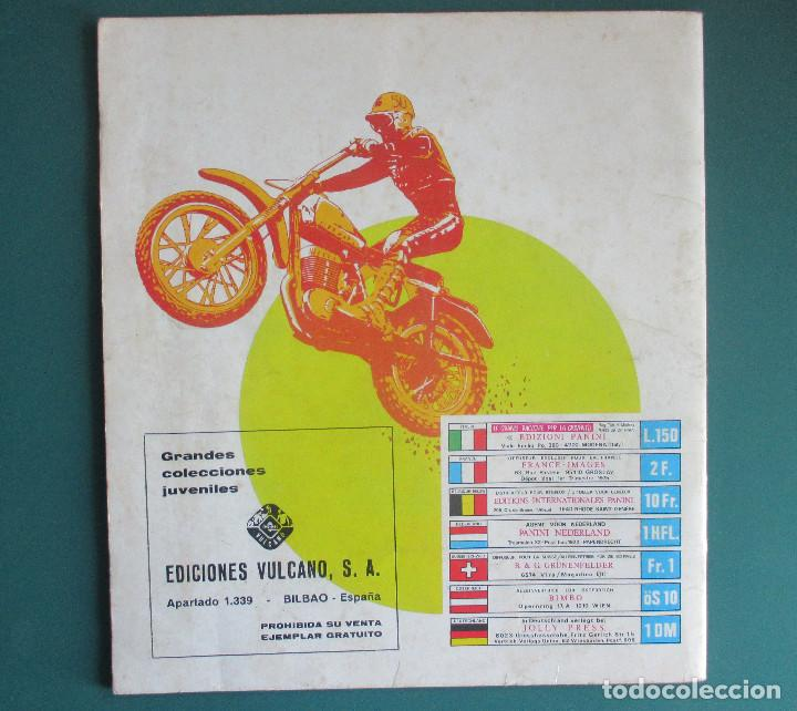 Coleccionismo deportivo: CASI VACIO ALBUM CROMOS SUPER MOTO 1975 VULCANO PANINI SUPERMOTO - Foto 10 - 255932055