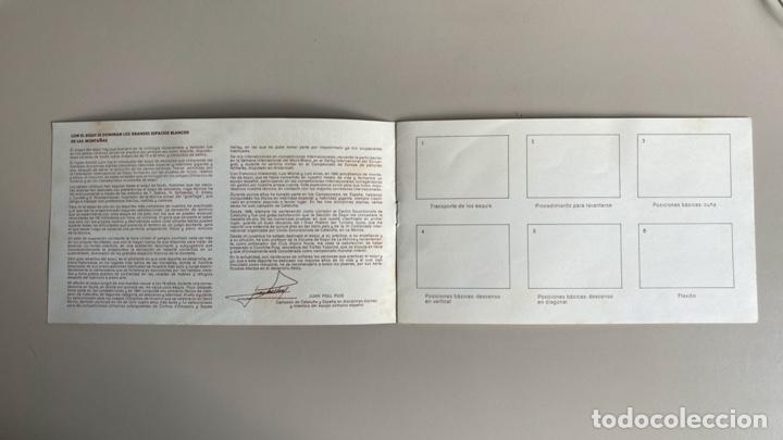 """Coleccionismo deportivo: Álbum vacio """"El deporte visto por sus ases"""", Esquí, nº 9, publicidad Chocosport / Nestlé, años 60-70 - Foto 4 - 255963675"""